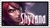 Shyvana Ironscale  Stamp Lol by SamThePenetrator