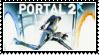 Portal2  stamp by SamThePenetrator