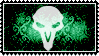 Overwatch stamp logo Reaper by SamThePenetrator
