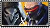 Overwatch yaoi stamp  ReaperxSoldier76 by SamThePenetrator