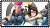 Overwatch  Zaryamei stamp by SamThePenetrator