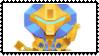 Overwatch Chibi stamp Orisa by SamThePenetrator