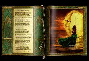 My crescent moon book by MorganaVasconcelos