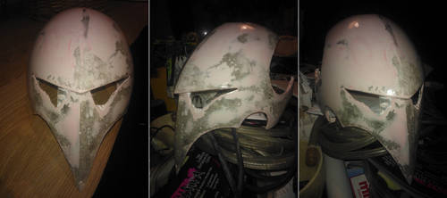 Scourge Mask WIP by Ardathair