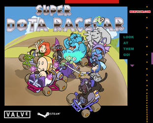 Super Dota RaceCar by JoPereira