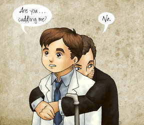 Not Cuddling by ErinPtah