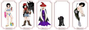 30 Alucards in Drag, 11-15 by ErinPtah