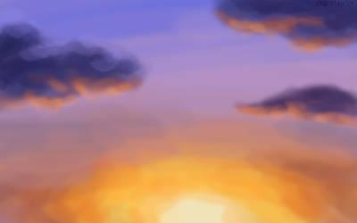 Violet Sunset by ErinPtah