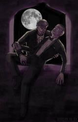 Vampire in the Window by ErinPtah
