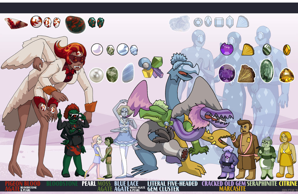 Gem Vale Height Chart V by ErinPtah