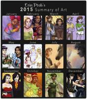 2015 in Webcomic Art by ErinPtah