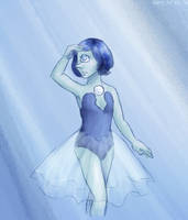 One Eyed Pearl by ErinPtah