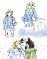 Dorothy through the ages by ErinPtah