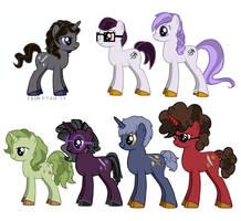 Embassy Ponies by ErinPtah