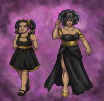 Dressed Up Violet by ErinPtah