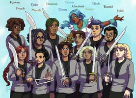 Team Flashback by ErinPtah