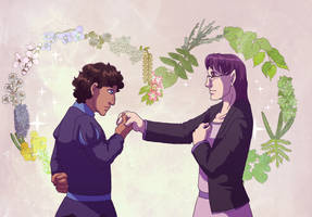 Two Years of Leif and Thorn by ErinPtah