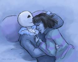 Frisky Cuddling by ErinPtah