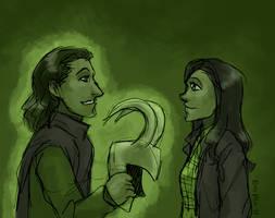Me Loki, You... by ErinPtah