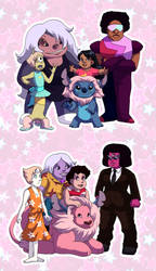 The Crystal Cosplayers by ErinPtah