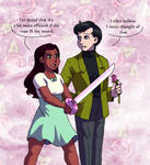 Rose Warriors by ErinPtah