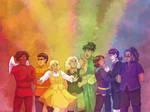 Wallpaper - Rainbow Ensemble by ErinPtah