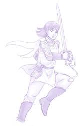 Dragon Sword by ErinPtah