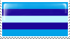 Trans Man Flag Stamp - Base by ErinPtah