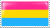Pansexual Flag Stamp - Base by ErinPtah