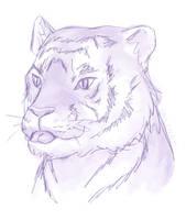 Tiger Blep by ErinPtah