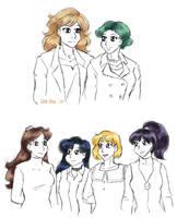 Senshi Hairstyle Swaps by ErinPtah