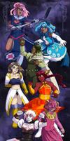 Magical Girls of Webcomics, Unite! by ErinPtah