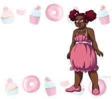 Cupcake Cybele Badge by ErinPtah