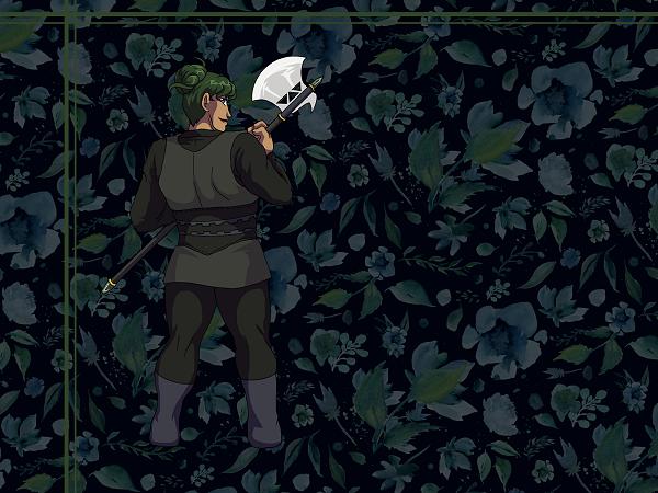 Wallpaper - Axe Heart by ErinPtah