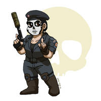 Rainbow Caveira by ErinPtah