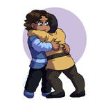 Quality Hugs by ErinPtah