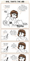 Webcomic Woes 25 - Hazards of working traditional by ErinPtah