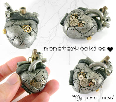 My Heart Ticks by monsterkookies