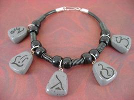 Rune Stone Bracelet by monsterkookies