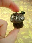 Antiqued Industrial Cupcake by monsterkookies