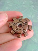 Sparkling Copper Gear by monsterkookies