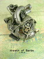 Wreath of Barbs - Front by monsterkookies