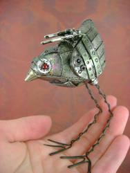Gunther, The Mechanical Birdie by monsterkookies