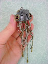 Mechanical Jellyfish by monsterkookies