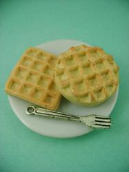 NAKED Waffles by monsterkookies