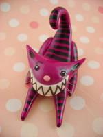 Mischievous Smiley Cheshire 2 by monsterkookies