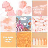 Pinkie pie x Sunburst Moodboard by S1NB0Y