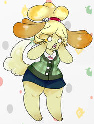 ISABELLE FOR SMERSH by PumpkinOverlord
