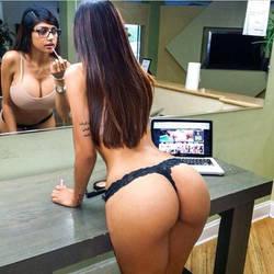 Mia Khalifa Big Tits and Ass by joell23