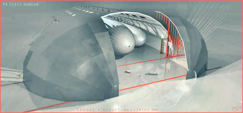 PX class hangar by donaguirre